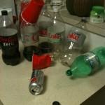 Binge drinking.