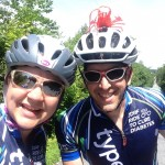 My friend Jeff! This was our fourth Ride together, and I loved spending time with him and his wife Lisa in Boston.