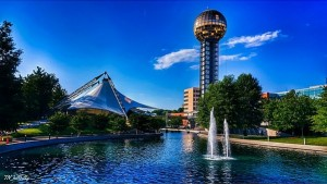 World's Fair Park, Knoxville, via @tn_hillbilly