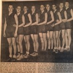 My grandmother's basketball team, 1934