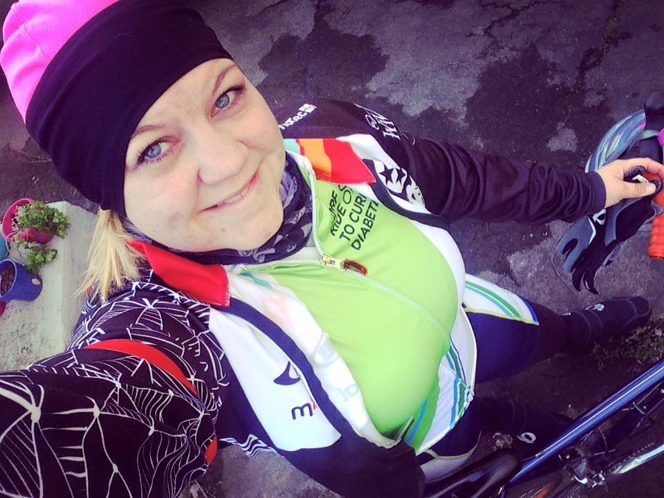 Training ride, winter 2015